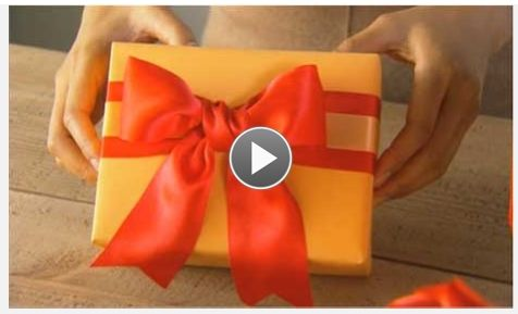 diy how to tie a ribbon for christmas gifts and more decorating ideas gift wrapping. Black Bedroom Furniture Sets. Home Design Ideas
