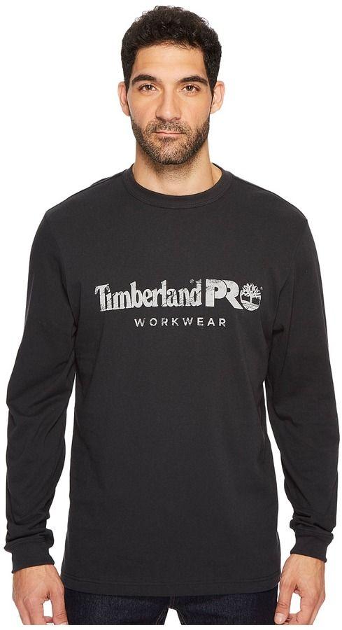 Timberland Cotton Core Long Sleeve T-Shirt Men's T Shirt