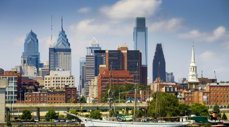 Just steps away from Panorama in Old City, Penn's Landing is a scenic area perfect for a relaxing break while visiting Philadelphia attractions. | Visit Panorama restaurant in Old City Philadelphia: http://www.panoramaristorante.com?chebs=pi-pennsview-panorama