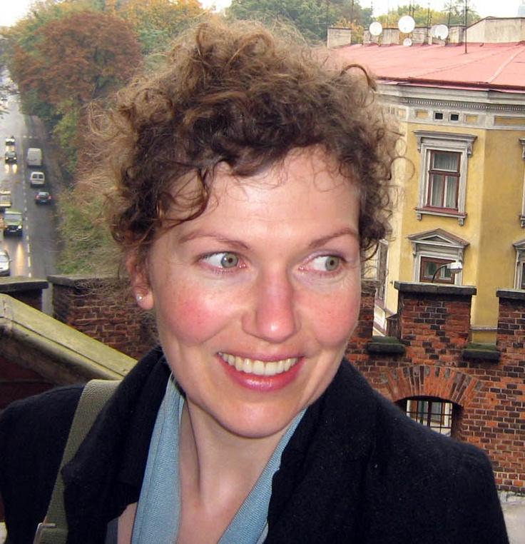 Graphic artist, cartoonist and writer Rebecca Kraatz, March 2012