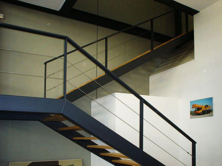 Las 25 mejores ideas sobre escalera de hierro en - Barandillas de hierro para escaleras ...