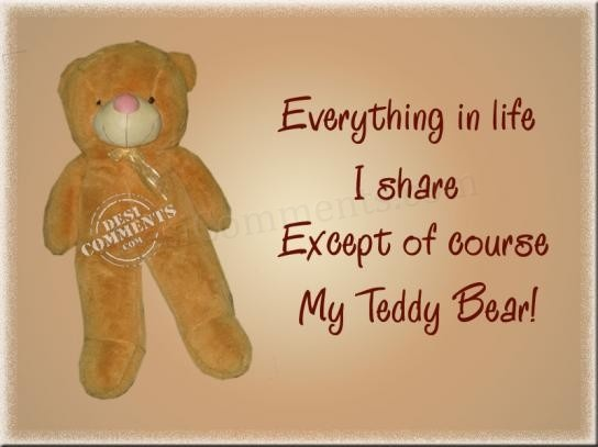 Love Quotes With Teddy Bear Images