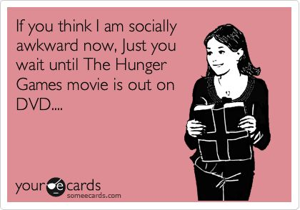 Just wait until The Hunger Games DVD...haha: Dear God, Cant Wait, Favorite Things, Birthday Parties, Social Life, Funny, Hunger Games, The Hunger Game, Absolutely Truths