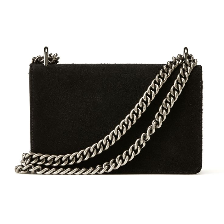 NAKEDVICE - The Chain Bag Black
