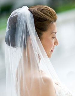 WeddingChannel Galleries: Double Roll and Veil