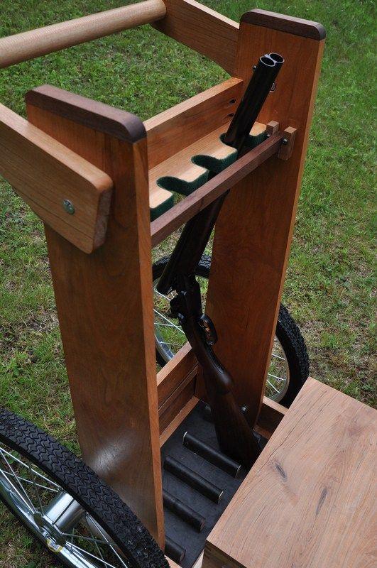 how to build a cowboy action gun cart