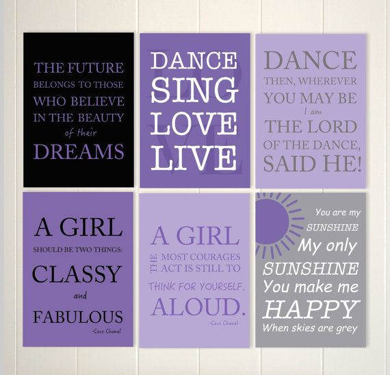 Teen Girl Wall Art 58 best dance wall art images on pinterest | girl wall art, art