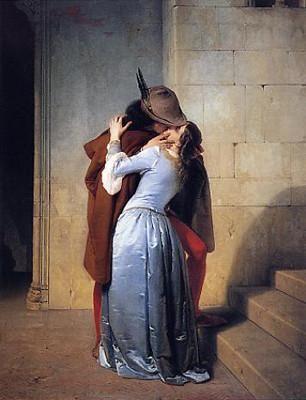 Il Bacio Francesco Hayez Art Print
