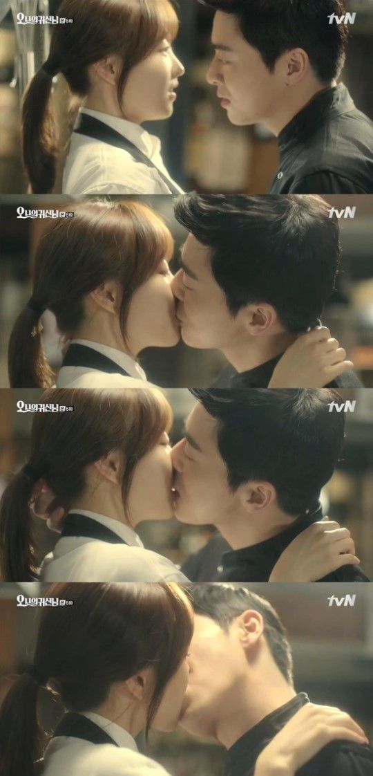 "Park Bo Young Dreams of Kissing Jo Jung Suk on ""Oh My Ghostess""  | KangSunWoo and NaBongSun | tvN #OhMyGhostess 2015 #ParkBoYoung #ChoJungSeok"