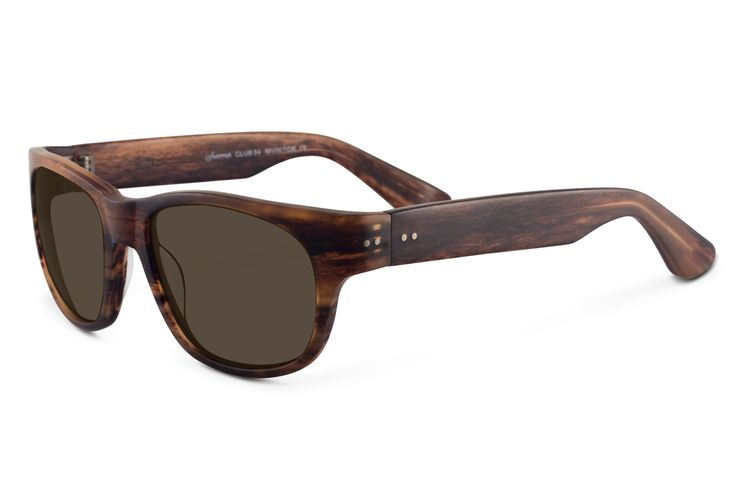 346.00$  Buy now - http://virtl.justgood.pw/vig/item.php?t=vfv6wl224606 - Sama Club 54 Sunglasses 54 Matte Vintage Tortoise 346.00$