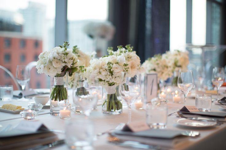 Malaparte Terrace wedding reception table decor