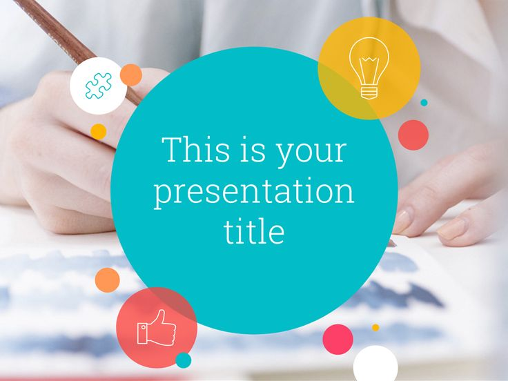 Enliven the audience and convey a positive message with your Powerpoint or Google Slides presentation using this free template. All slides are customizable.
