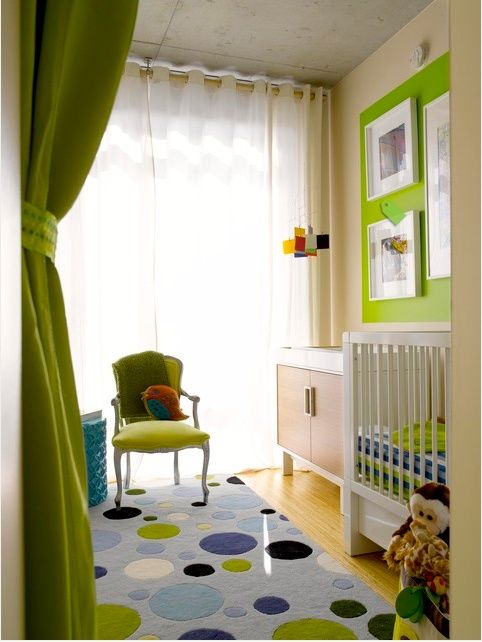 gender neutral modern nursery dream nurseries green and white