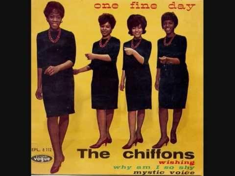The Chiffons - One fine day....sooooo sweet! upbeat girly song