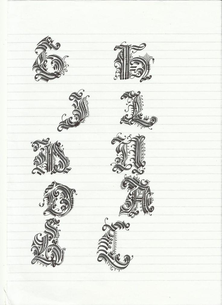 Cadel alphabet exercises