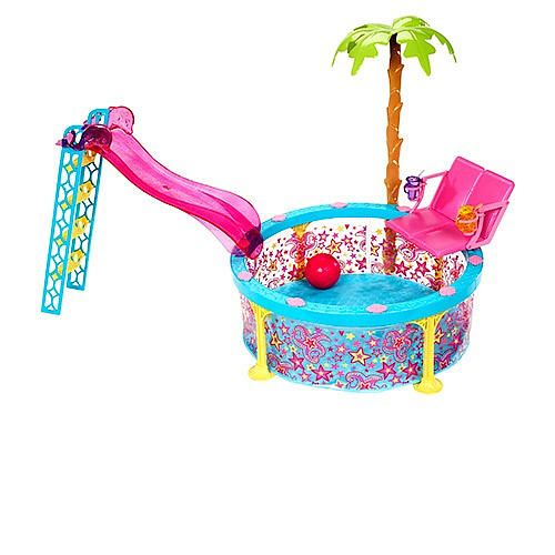"Barbie Glam Pool Playset - Mattel - Toys ""R"" Us"