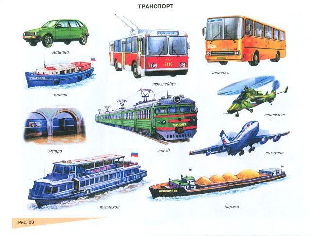 Кабинет логопеда: Транспорт Звук П (Пь)