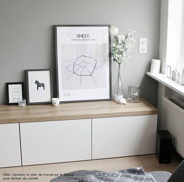 Album – 11 – Gamme Besta (Ikea) Bureaux, bibliothèques, réalisations clients
