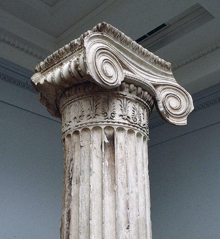 Ionic Column - Erechtheum, British Museum