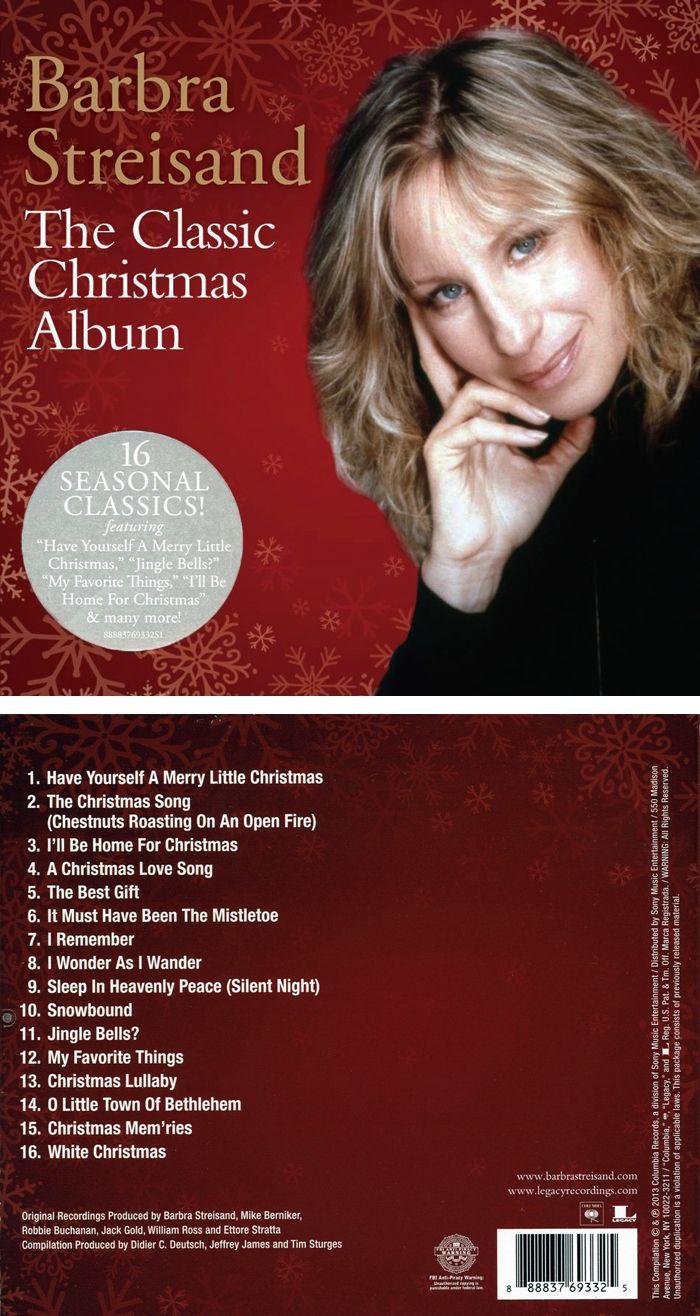 49 best A Barbra Streisand Christmas images on Pinterest   Barbra ...