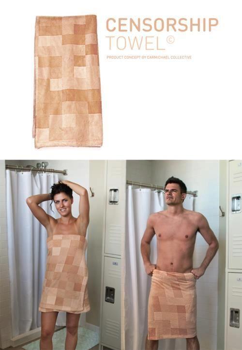 Censorship towel