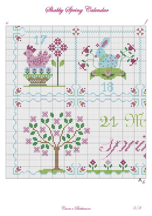 Gallery.ru / Фото #4 - Shabby Spring Calendar - Marina-Melnik