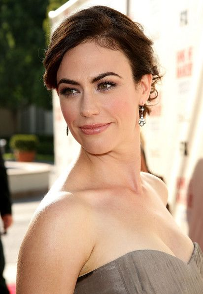 """Maggie Siff Actress Maggie Siff arrives at the series premiere screening of FX Network's """"Sons of Anarchy"""" held at the Paramount Studios the..."""