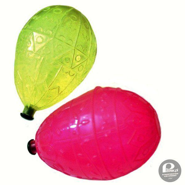 Sikawka w kształcie jajka – Klasyk z dzieciństwa poza oczywiście butelkami z dziurawymi zakrętkami.