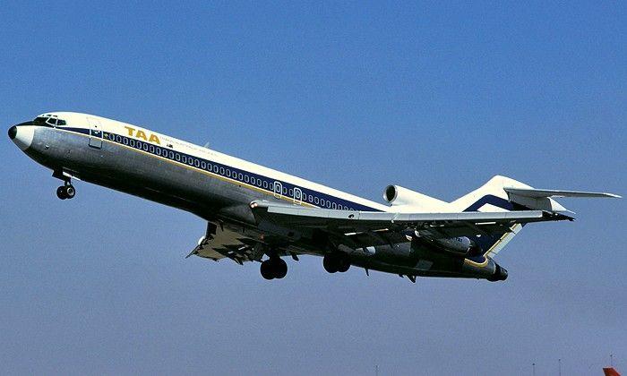 Trans Australia Airlines Boeing 727-276 (VH-TBI)