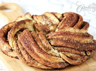 Estonian Kringle - Cinnamon Braid Bread Recipe #finuu #finnishcuisine #inspiracje #ciastko #cynamon #cinnamon #rolls #przepisy #bozenarodzenie