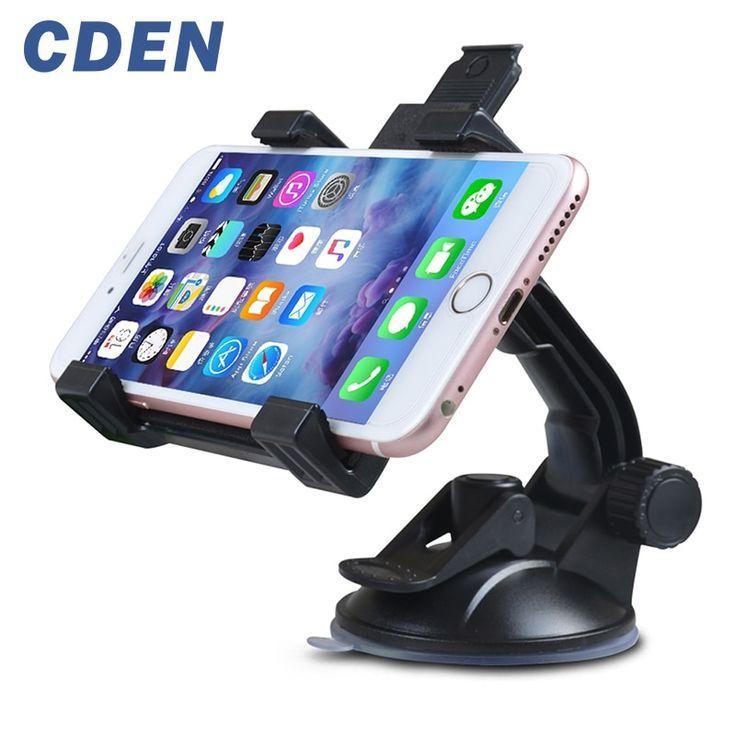 Universal Car Phone Holder 360 Degree Rotation Navigation Phone Holder Glass Suc Iphone Car Mount Car Phone Holder Magnetic Car Holder Car Cell Phone Holder