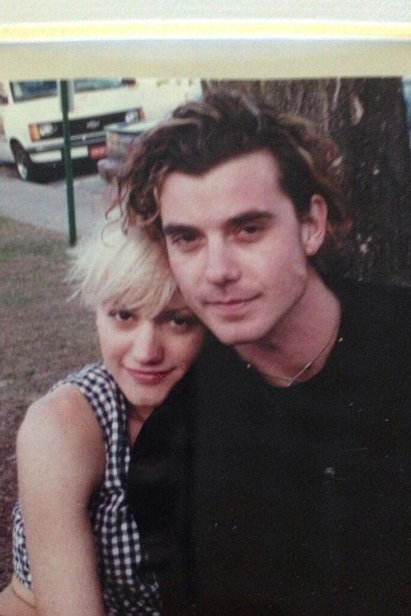 Gwen Stefani & Gavin Rossdale, mid 1990's  good old days