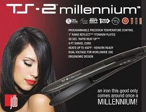 TS-2 Millennium Professional Flat Iron  http://www.thecoiffeur.com/ts-2-millennium-professional-flat-iron-3/