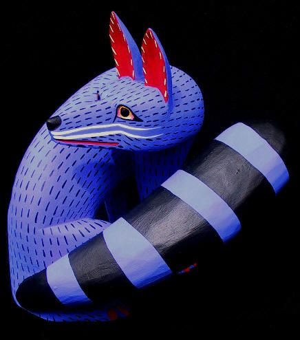 how to make oaxacan wood carvings