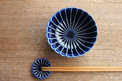 角皿【小】 ストライプ 陶器 一翠窯 画像2