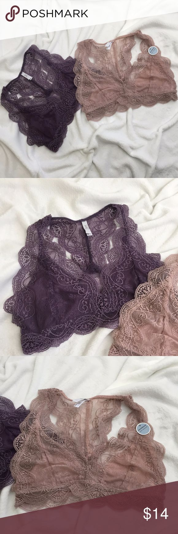 Urban Planet Urban Planet both NWT Fits true to size $18 for both Urban Planet Intimates & Sleepwear Bras