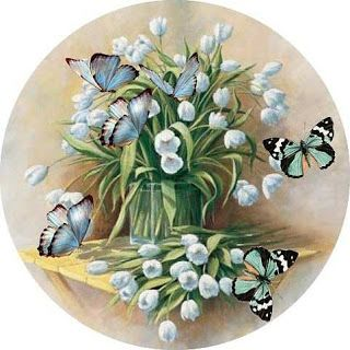 MY TRUNK OF DECOUPAGE: A SONG ... A SPRING FLOWERS AND BUTTERFLIES.