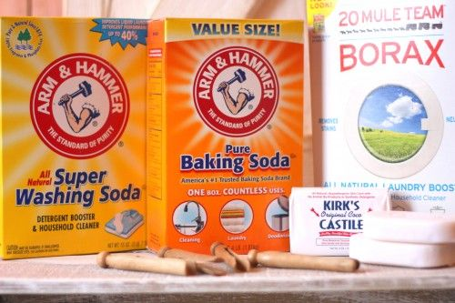 Make your own laundry detergent and save $$$ - smells good, too!