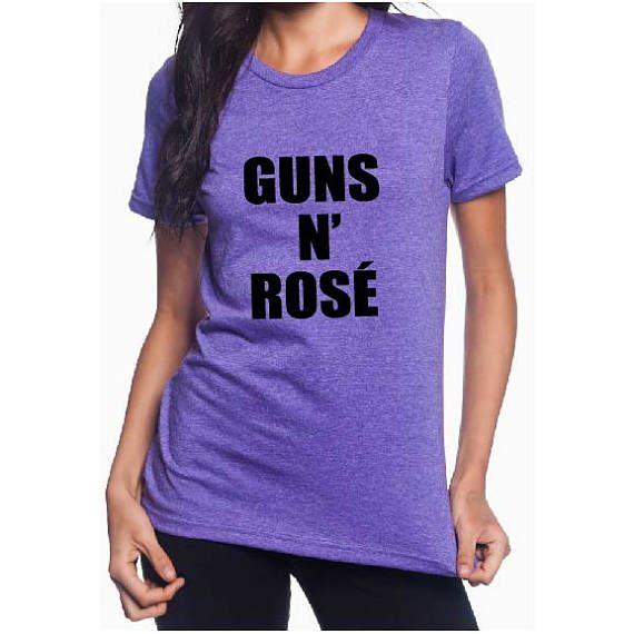 Guns 'N Rose - Eighties Music Shirt - Eighties Shirt - 80's Shirt - Party Shirt - GNR Shirt - Wine Lover