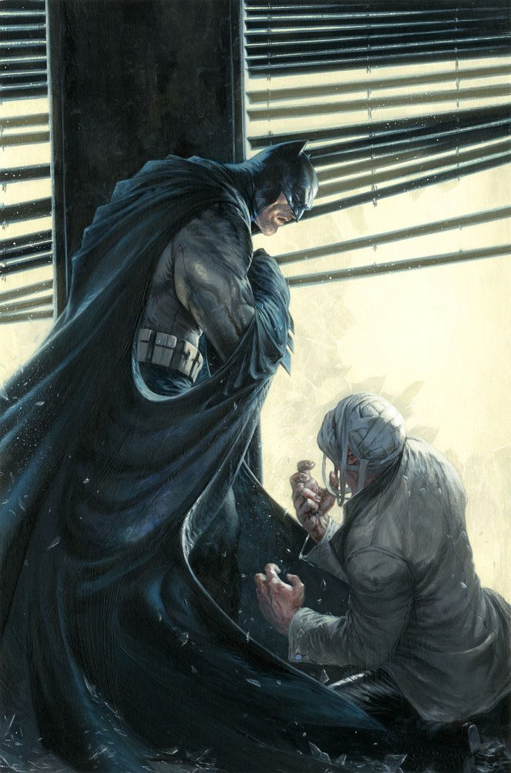 Batman & Two Face by Gabriele Dell'Otto
