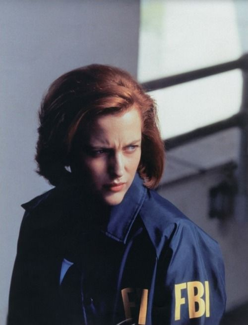 Dana Scully - Gillian Anderson