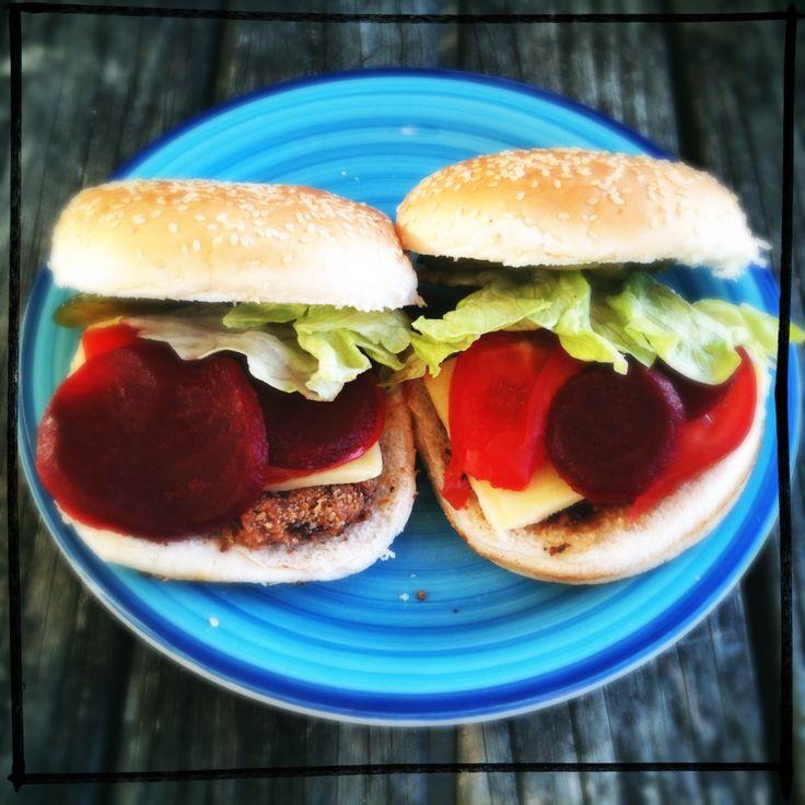 Vegetarian Red Bean Burgers