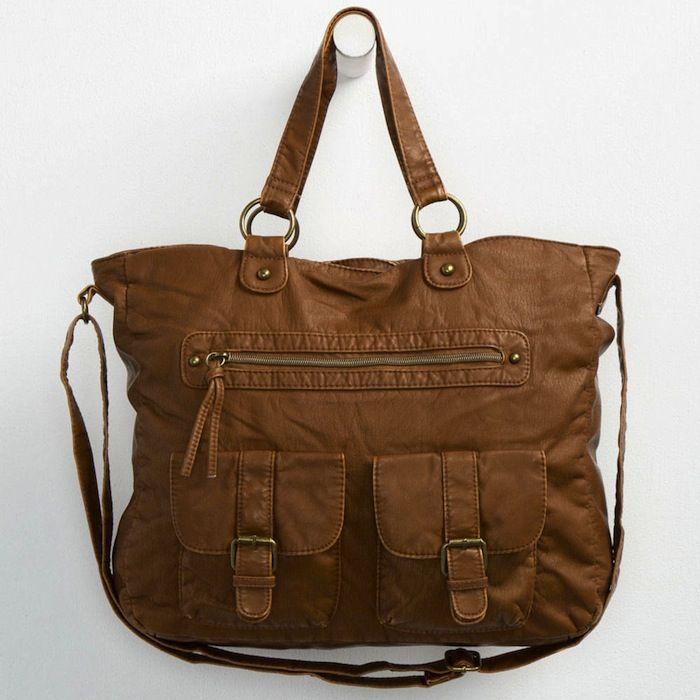T-Shirt & Jeans Jacqueline faux leather tote bag #handbag #accessories #womensfashion #SilkRoadEXPO