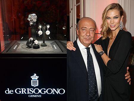 """de Grisogono stellt seine mit Juwelen besetzte Totenkopf Uhr """"Crazy Skull"""" vor"""