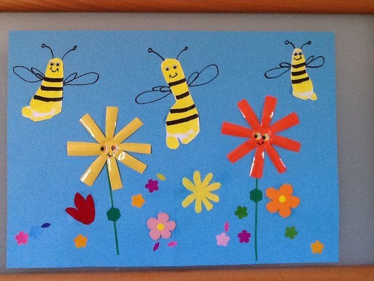 empreintes pieds abeilles
