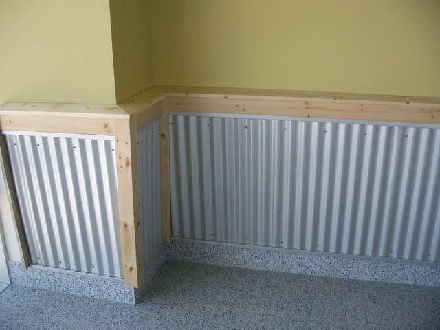58 Best Corrugated Metal Amp Wood Furniture Images On