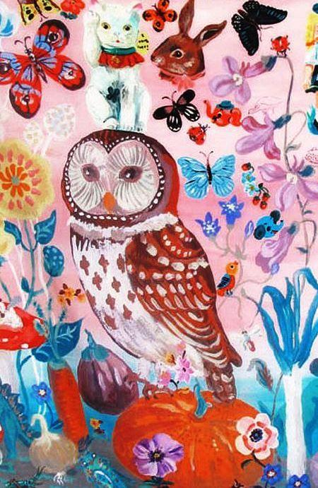 owl by Nathalie Lete
