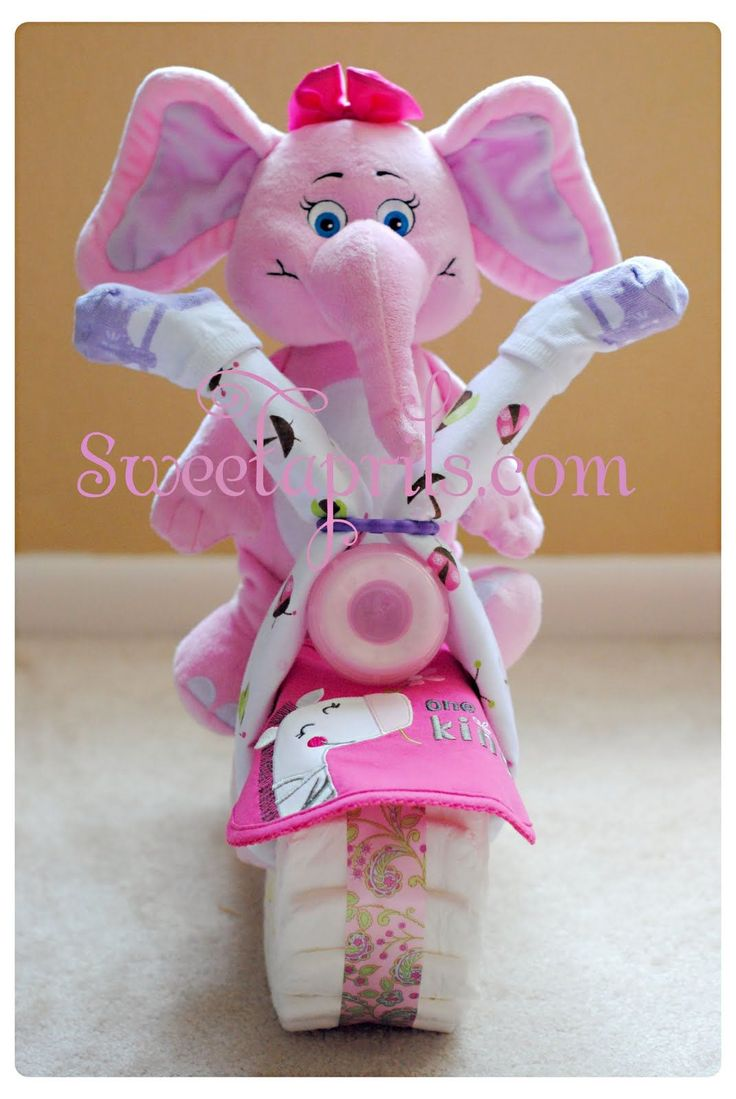 Once upon a time, I used to make Diaper Motorcycles.Then one day I got accepted into nursing school. That is when I decided why not make a...