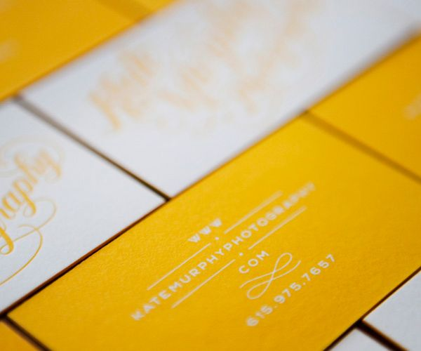 100 best 100+ Creative ORANGE/YELLOW Business Cards for Your ...