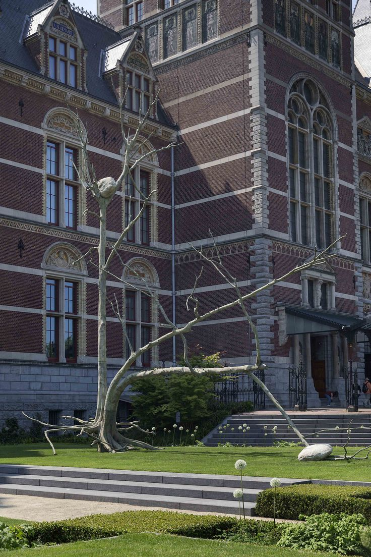 Triplice (2011), Giuseppe Penone. Particuliere collectie. Foto Olivier Middendorp